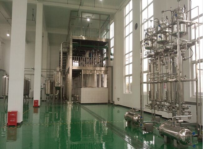 china standard herbal extraction project